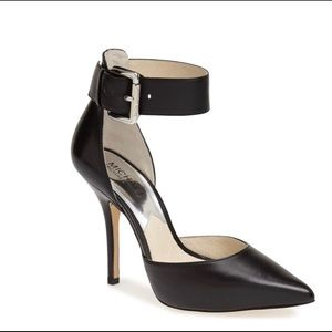 Brinkley' Ankle Strap Pointy Toe d'Orsay Pump